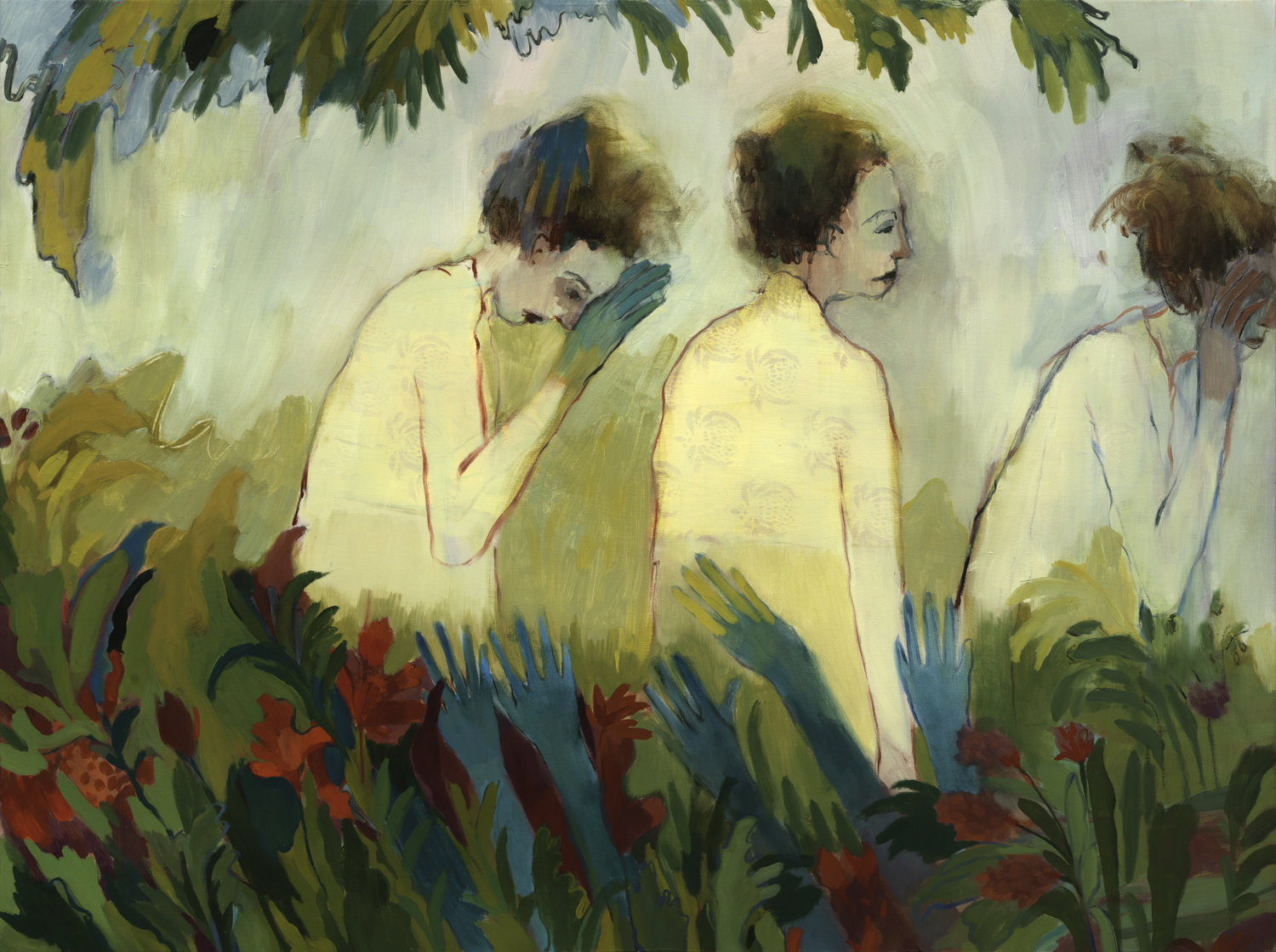 Through Tall Grass Oil on panel 48 x 36 in. $3000