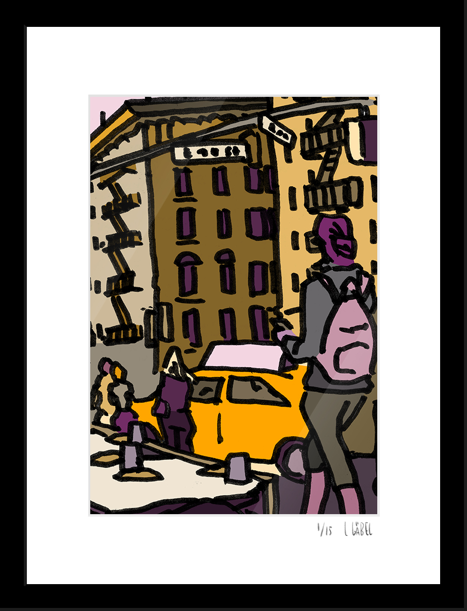 14th Street - limited to 15 prints only - €450