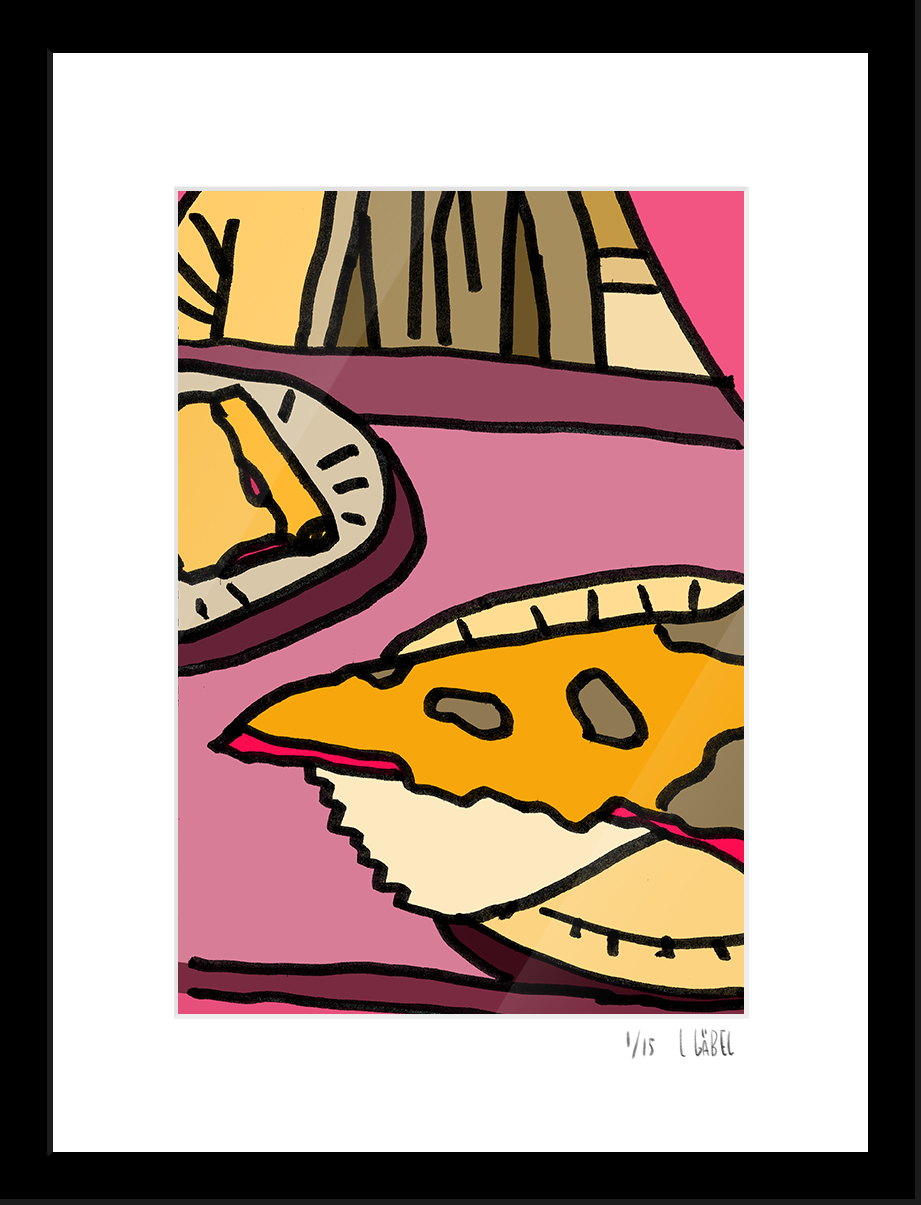 NY Pizza - limited to 15 prints only - €450