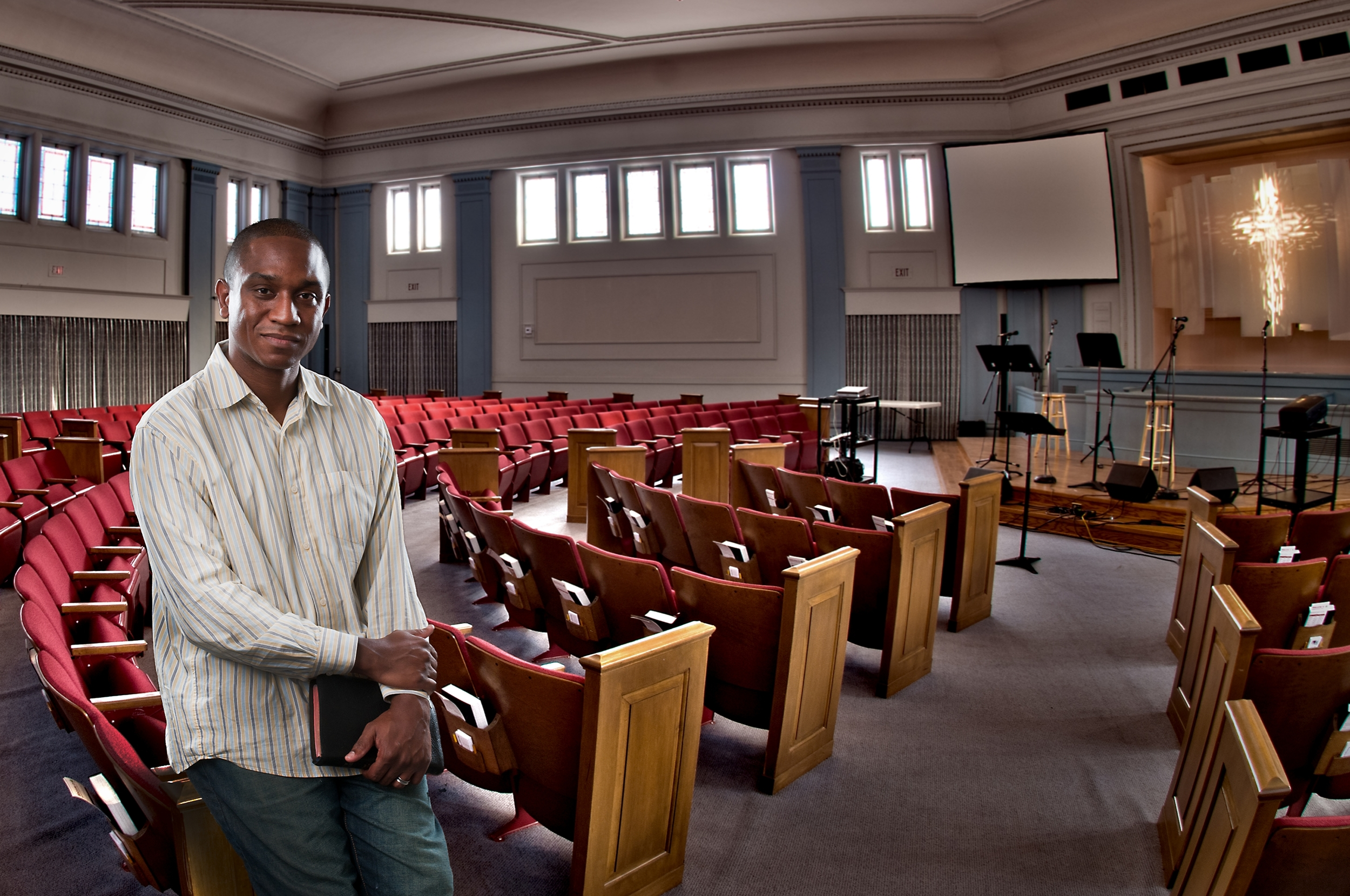 Vermon Pierre, Lead Pastor, Roosevelt Community Church
