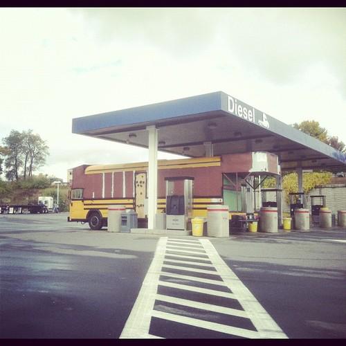 MOTORPARK in transit between upstate New York and westernMassachusetts.
