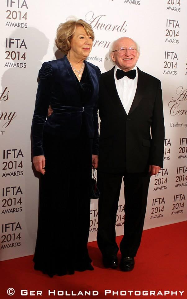 Sabina & Pres. Michael D. Higgins