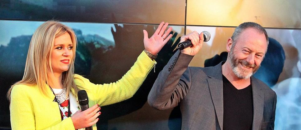 Karen Koster & Liam Cunningham - Oblivion 2013