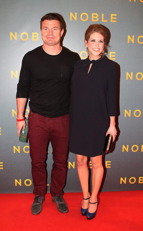 Brian O' Driscoll & Amy Huberman - Noble 2014
