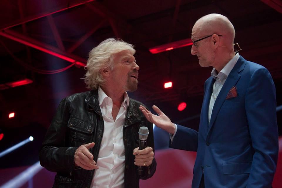 Richard Branson & Magnus Ternsjo