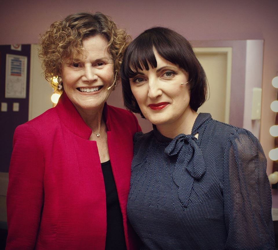 Judy Blume & Sinead Gleeson
