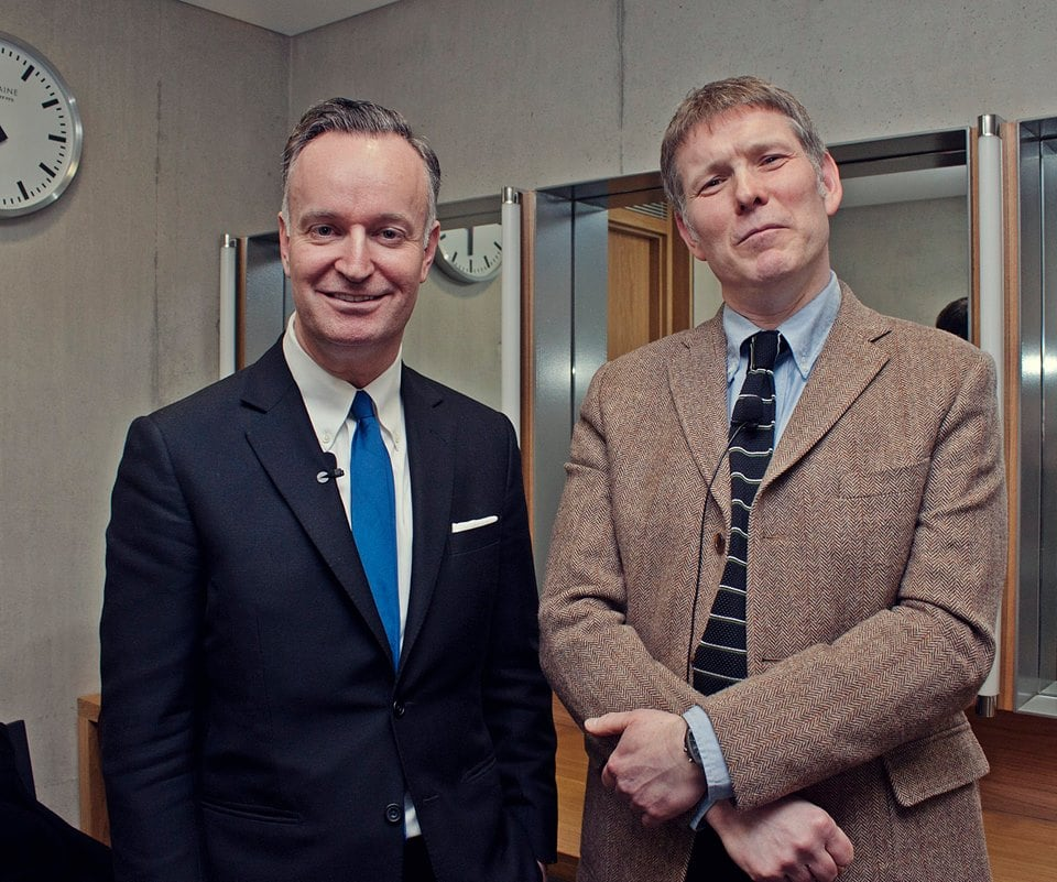 Andrew O' Hagan & Mick Heaney