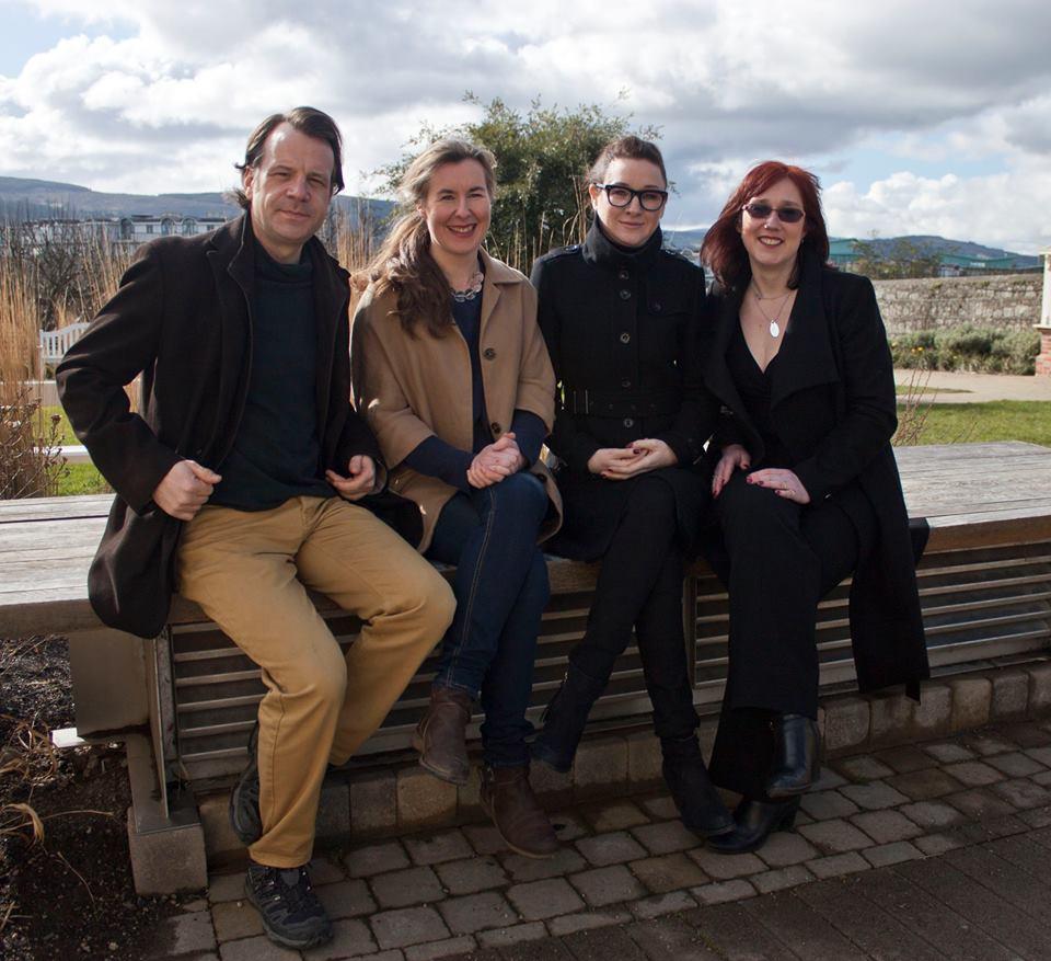 Paul Perry, Karen Gillece, Alex Barclay & Vanessa O'Loughlin