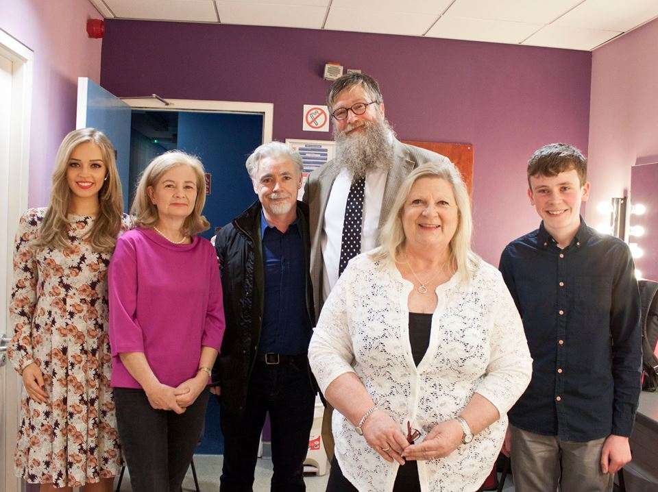 Diana Bunici, Judi Curtin, Eoin Colfer, Philip Ardagh, Marita Conlon McKenna & David Rawle