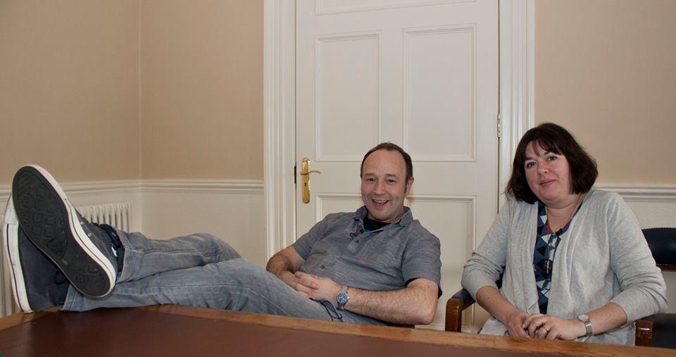 Alan Nolan & Holly Webb