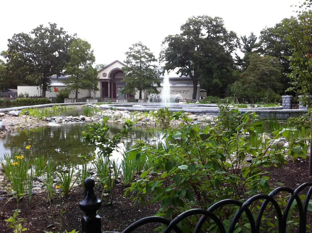 4-completed project showing wetland features, ponds, retaining walls, fountain and McNeil Avian Center -PS&S.jpg