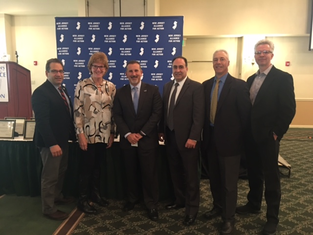 From left to right: Ron Weston, Marge DellaVecchia, John Sartor, John Vena, Michael Cohen, Glenn Kustera