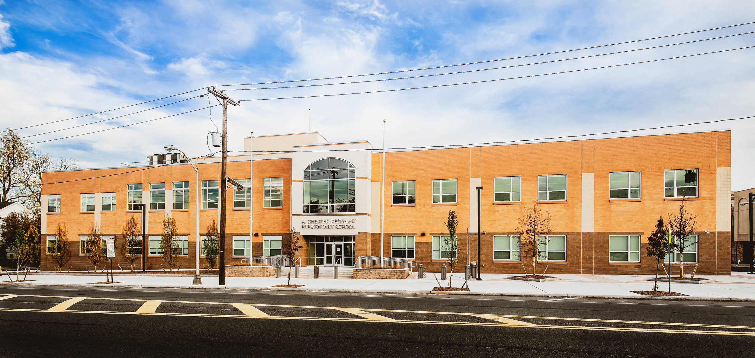A. Chester Redshaw Elementary Design-Build School, New Brunswick, NJ