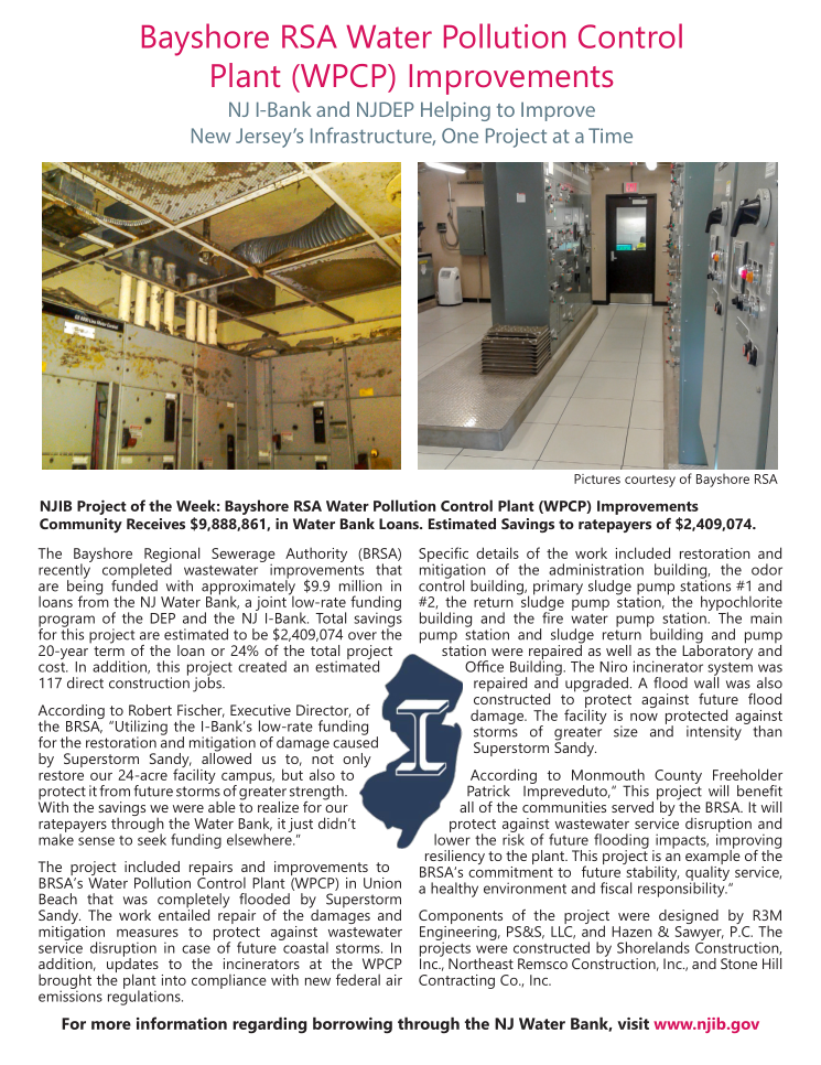 NJ IBank Features Bayshore RSA Water Pollution Control Plant as their Project of the Week.png