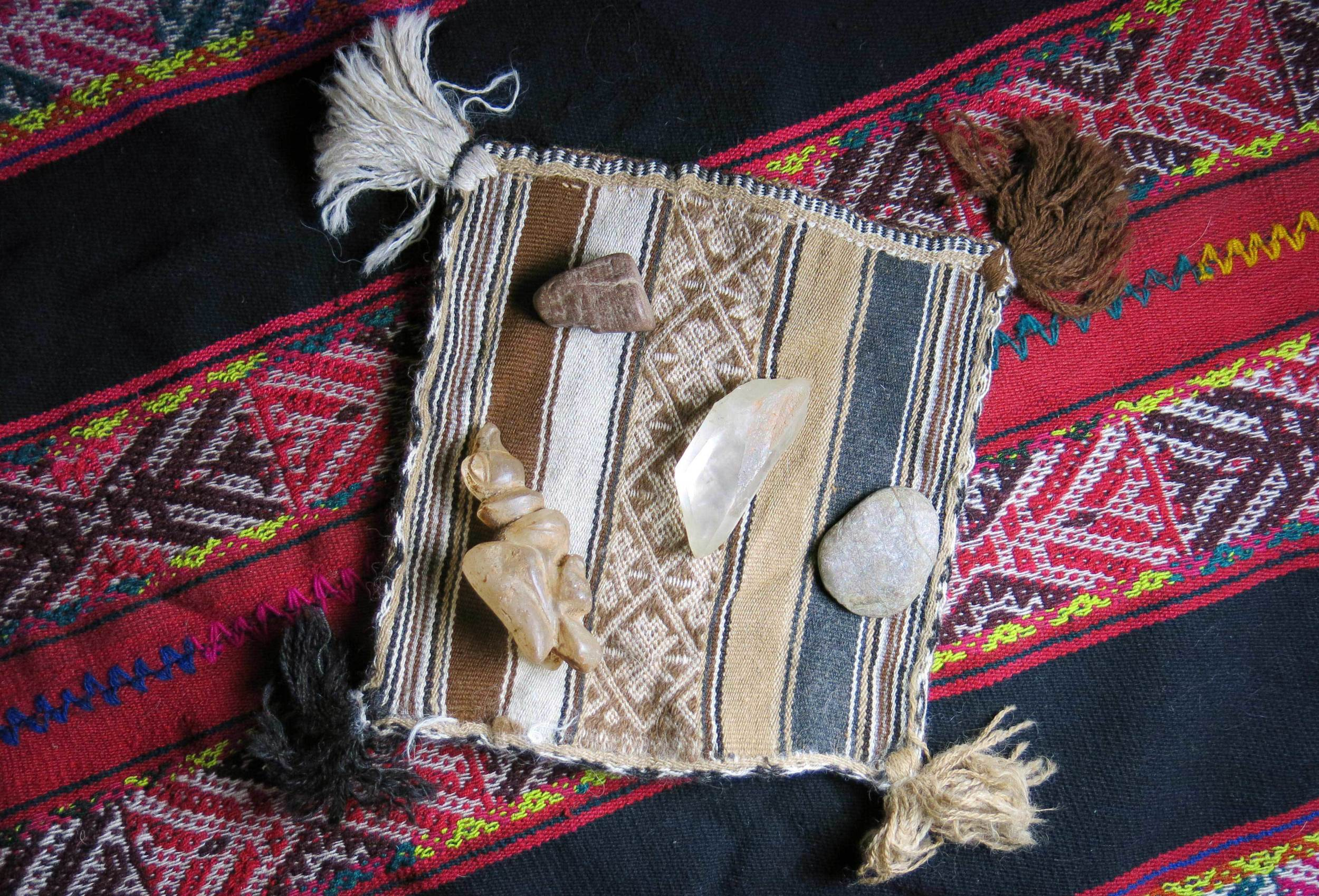 This is anAlto mesayoq mesagiven to Liz in Peru. Alto mesayoq is one of the mystical paths in the Andean tradition. They work with the world of living energy andcommunicate with the spirits of the mountains andstars.