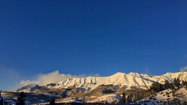 Gratuitous mountain shot
