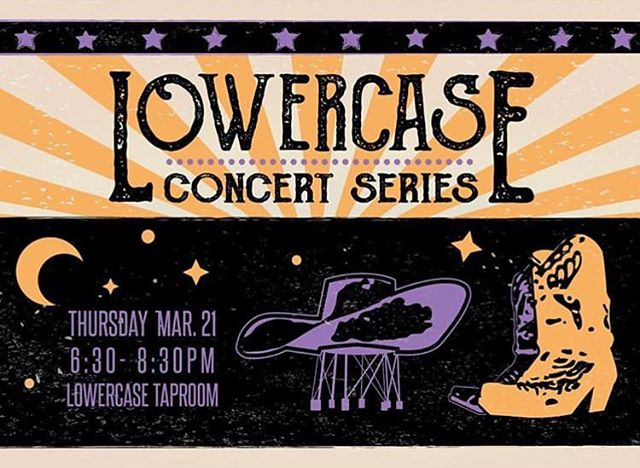 Great to have an acoustic opportunity coming up Thurs. Mar. 21 at Lowercase Brewing 👏🏼They set it up listening room style, which gives me a chance to strip down some of the go-to tunes, as well as debut some new material! Thanks to @leahtous for making it happen!