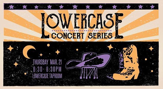 Tonight down in Georgetown at @lowercasebeer 👏🏼 Show starts at 6:30p