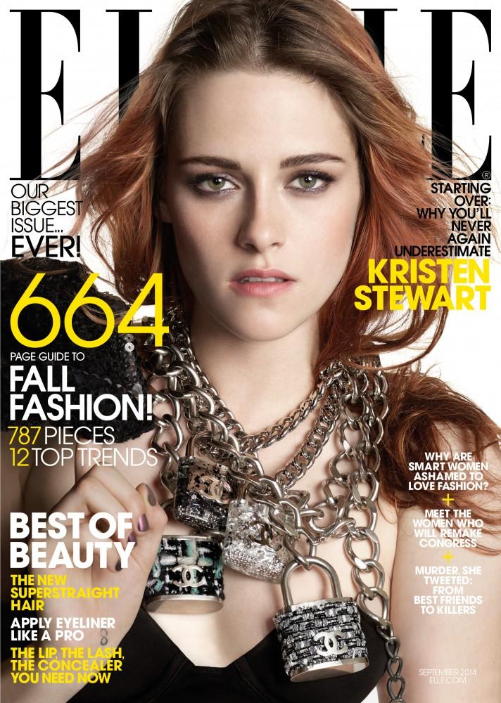 Lili Anolik Kristen Stewart ELLE Magazine Cover Story September 2014