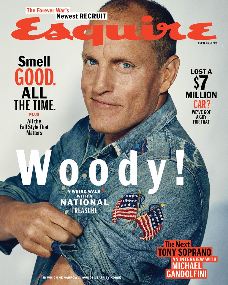 esquire september cover lili anolik woody harrelson