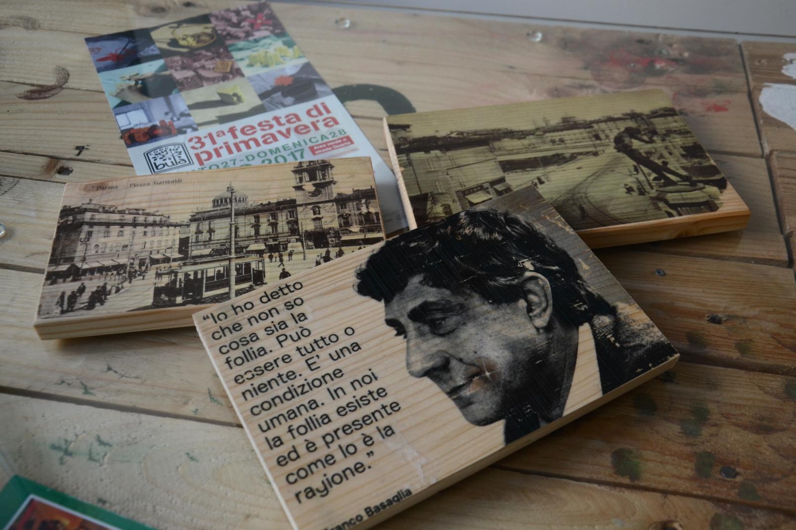Stampe su legno - Per un'idea regalo originale puoi trasformare una tua foto o un'immagine in un quadretto di legno. Il costo di questo servizio è di 30€ per il formato A4 e di 50€ per il formato A3. Inviaci via mail il file da stampare oppure contattaci, ti aiuteremo a sviluppare la tua idea.