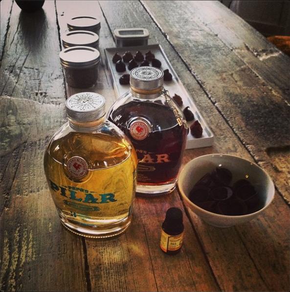 Rum Truffle tasting