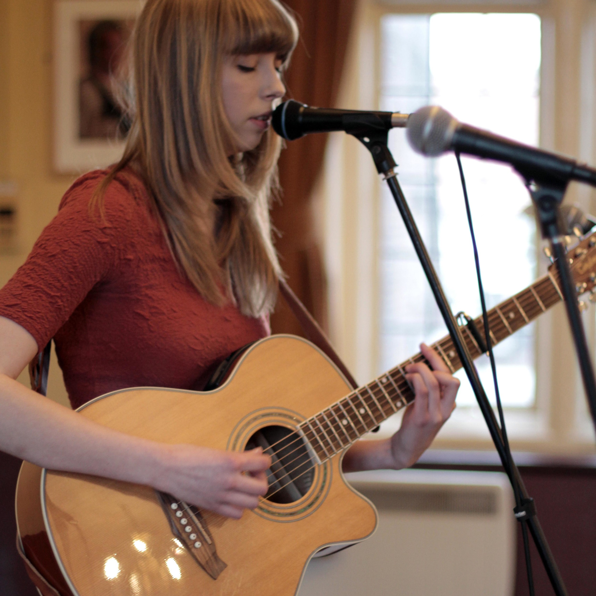 Rachel Clark - Golden Hind - Cambridge - Soundcheck.jpg