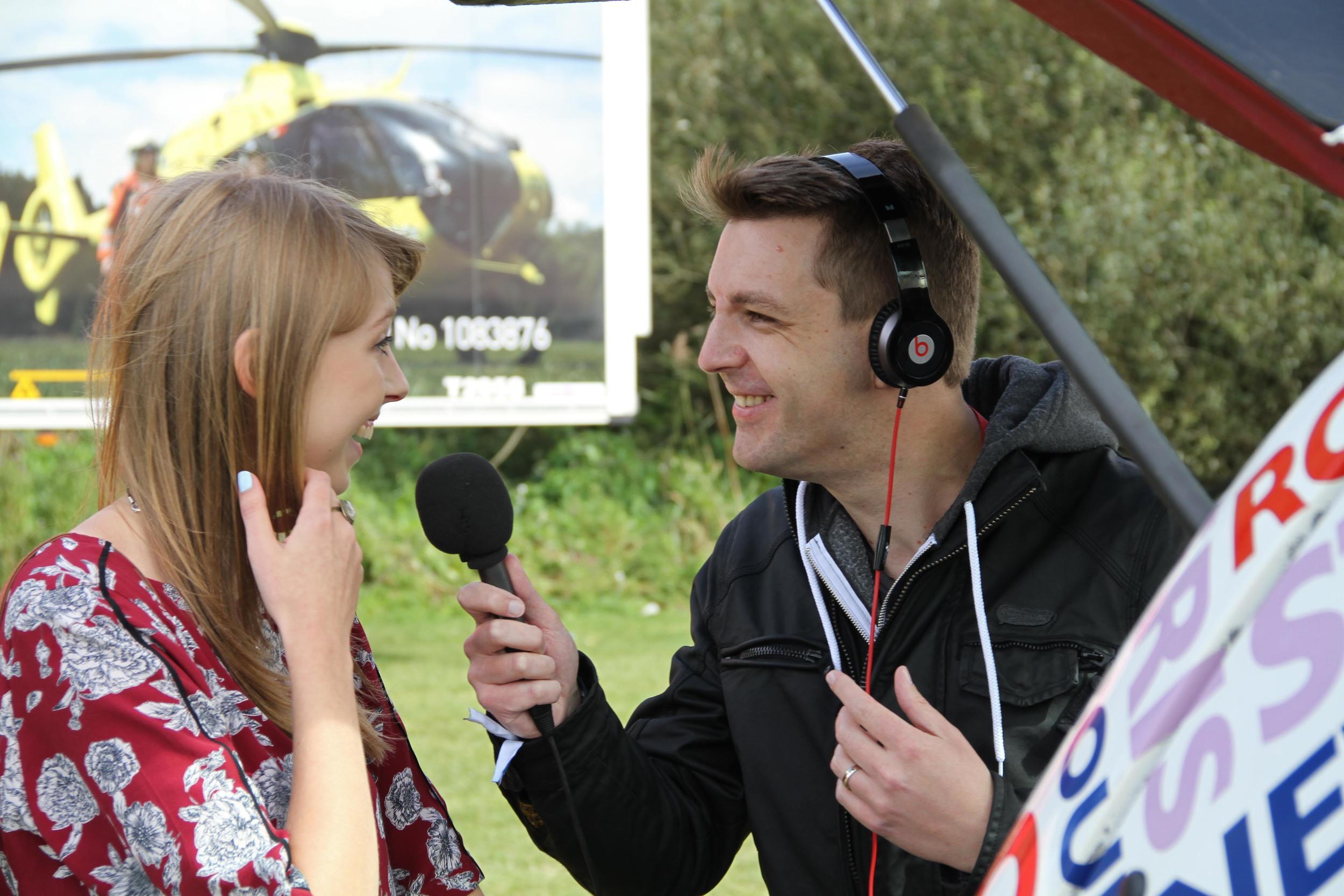 Rachel Clark - BBC Radio Cambridgeshire - Nick Carter - LodeStar 2014 - 3.JPG