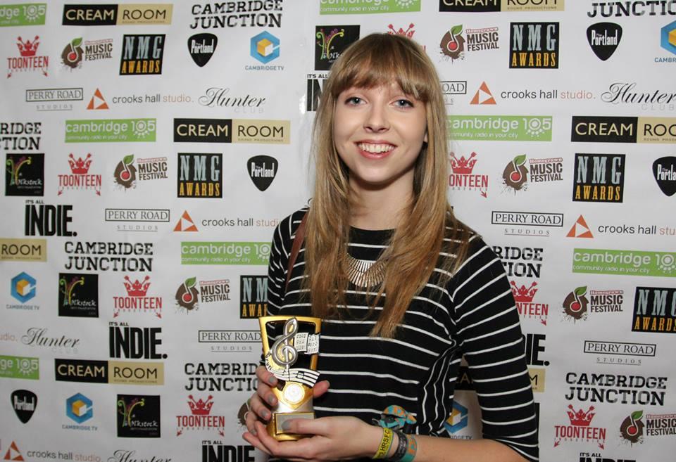 Rachel Clark - NMG Awards 2014 - Best Under 18 Solo Act - 02.jpg