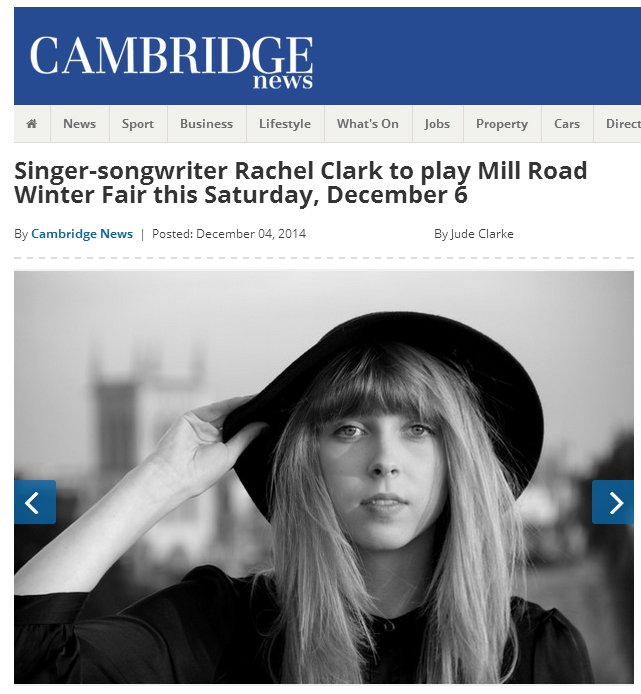 Rachel Clark - Cambridge News - 2014-13-04 - header.jpg