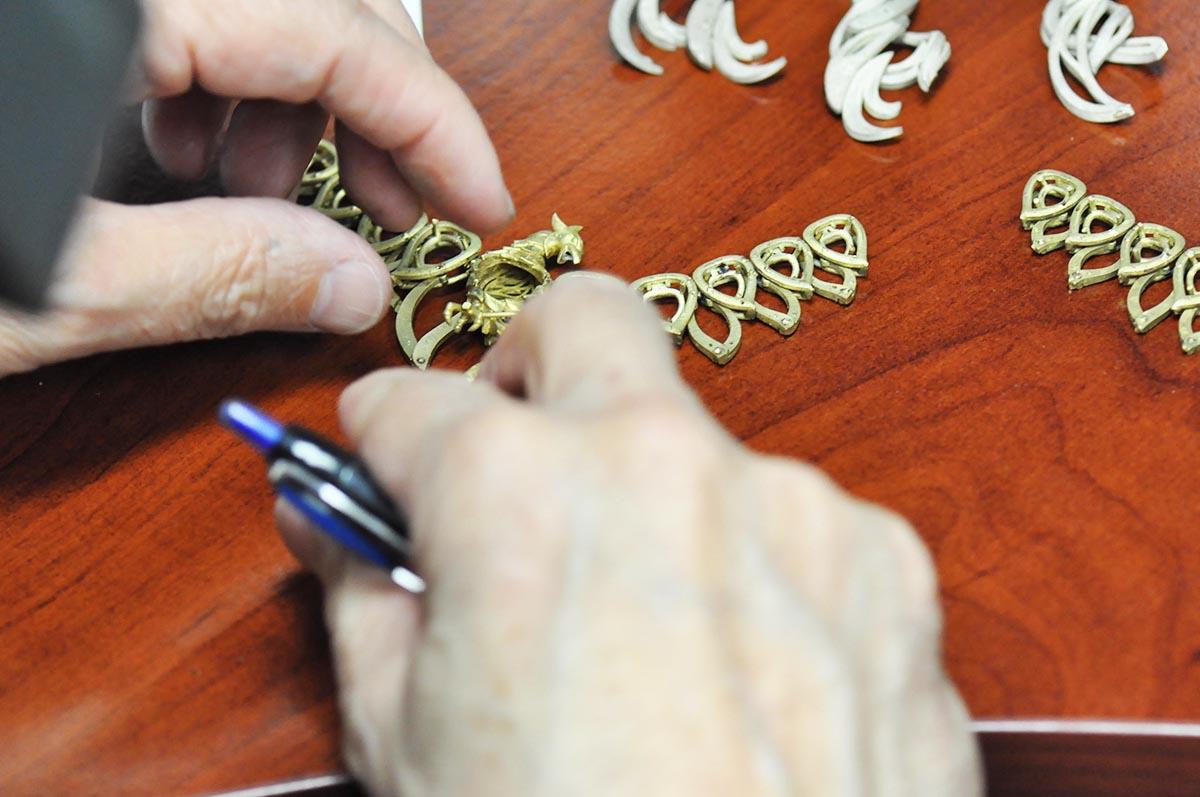 Making the Phoenix Rising necklace by Ricardo Basta Fine Jewelry