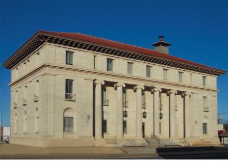 Federal Building in Chickasha, Okla.