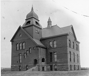 Old Central- the first building built at Oklahoma State University in Oklahoma Territory c. 1894 Completely restored by CMSWillowbrook in 2007