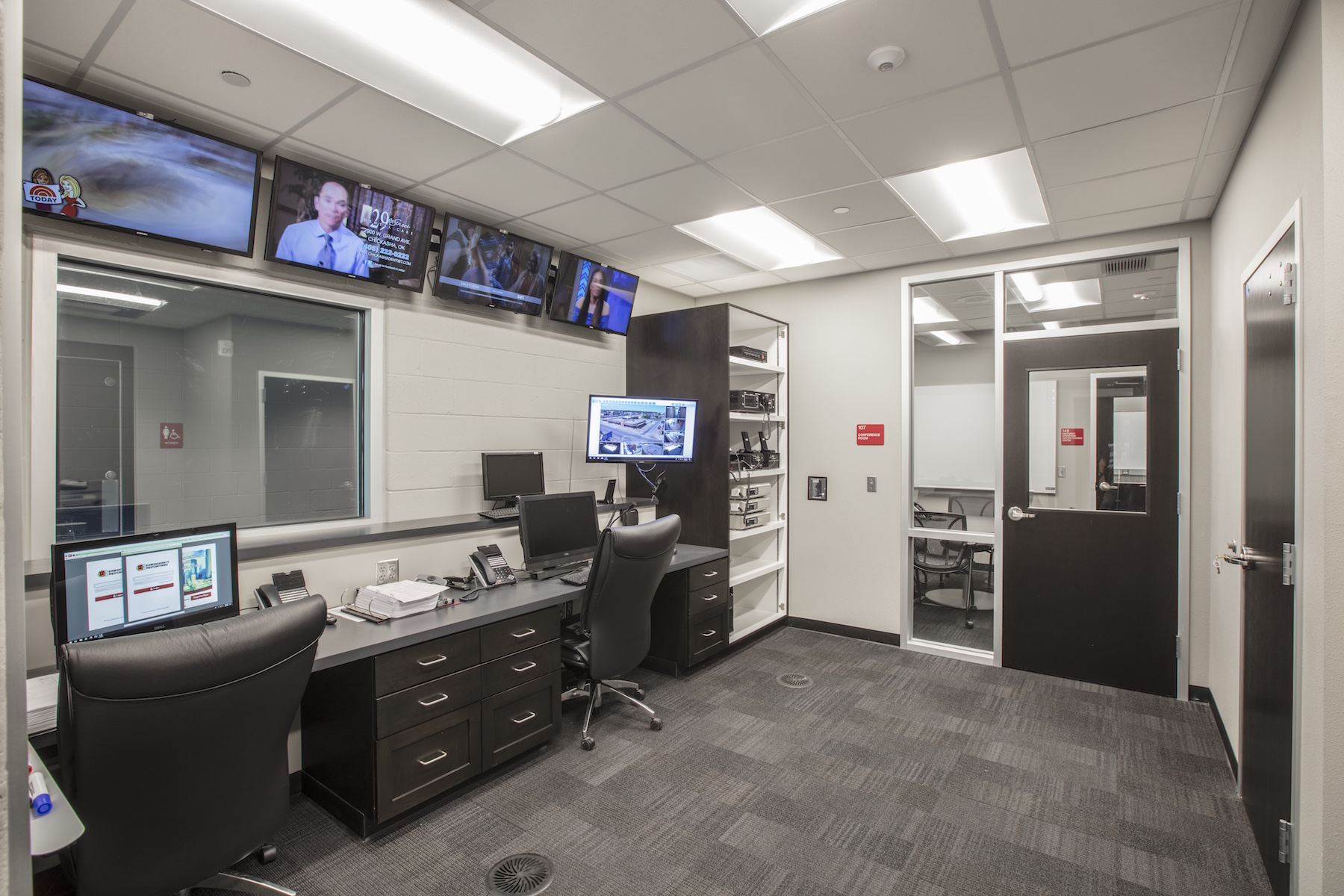 Del City FD1command room.jpg