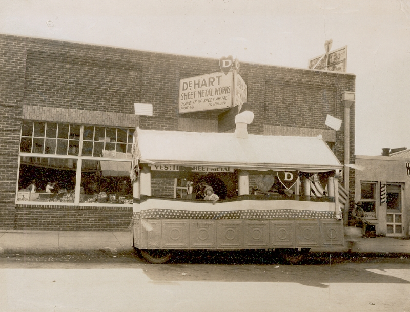 DeHart Sheet Metal Works was started by Cary's grandfather in 1920.