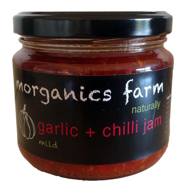 - Garlic bulbs, braids, garlic bunches, garlic scapes, garlic pesto, garlic bombs, garlic and chilli jam.