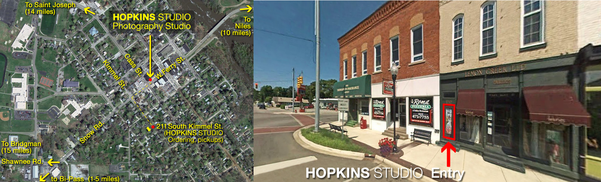 HOPKINS STUDIO Location Map & Photo of Studio Entry.jpg