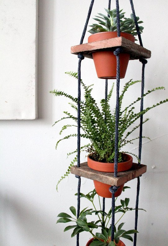 Make A Tiered Plant Hanger