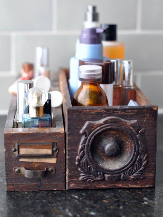 Repurpose Old Sewing Machine Drawers Into Cute Storage