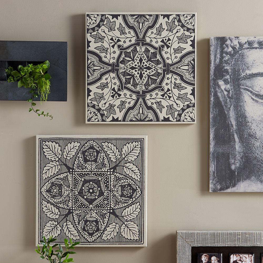 Black And White Sketch Linen Canvas Prints