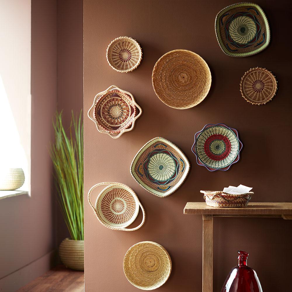 Handwoven Guatemalan Display Basket