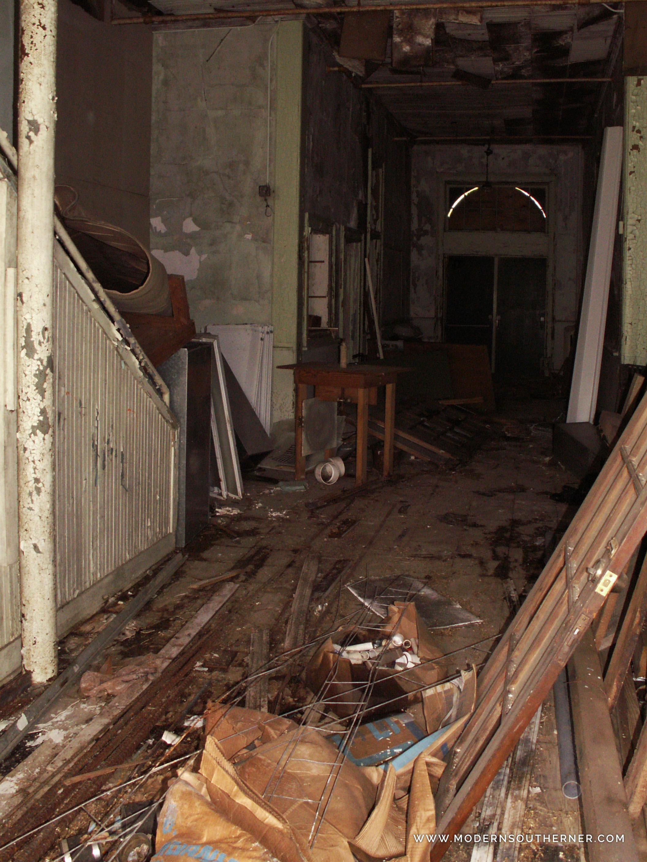 Abandoned School in Mississippi