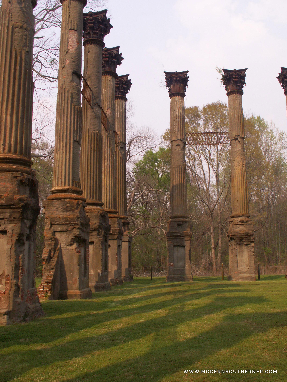 Windsor Ruins in Mississippi