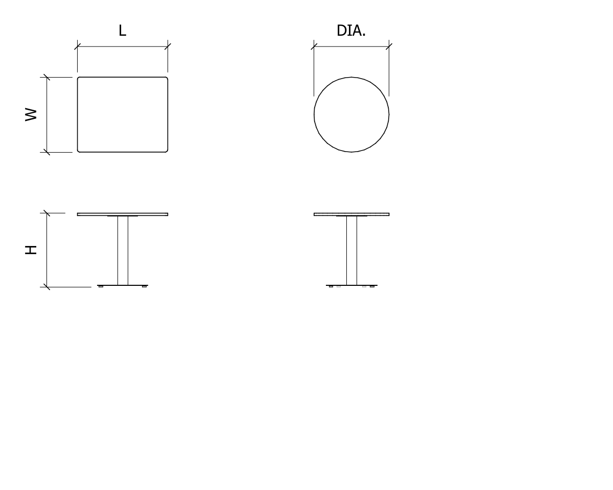 Basics Pedestal Table_Line Drawing.png