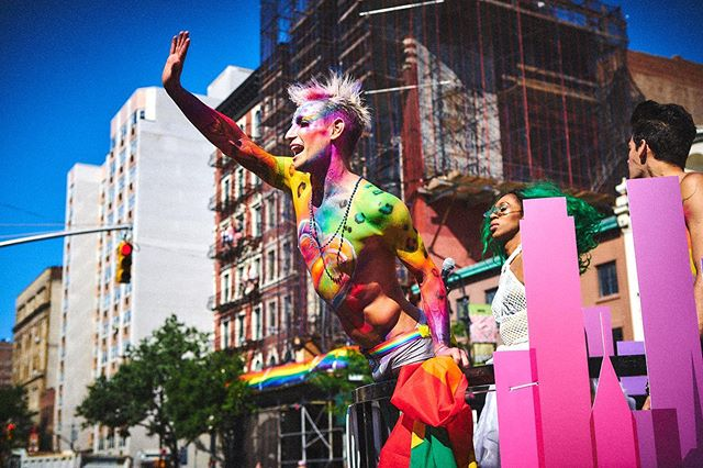 What an experience?! The energy of Word Pride was EPIC! #pride #nycpride