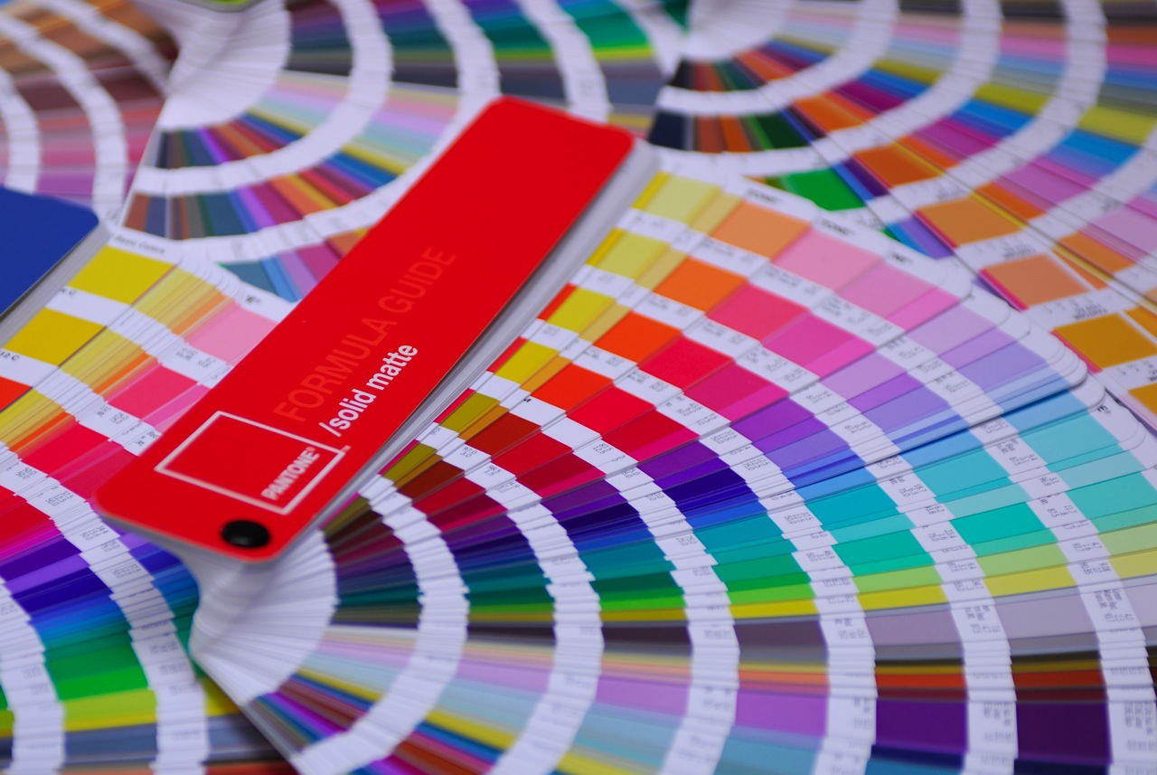"""Picking the right name for a product, app, domain, and/or business is like finding the """"right"""" Pantone color. It all depends. (Image courtesy of Flickr user  John Fischer .)"""