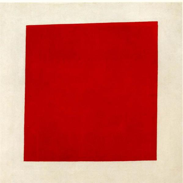 I couldn ' t find the piece titled  Number 34  at MoMA. But I found this painting:  Red Square  (1915) by Kazimir Malevich.