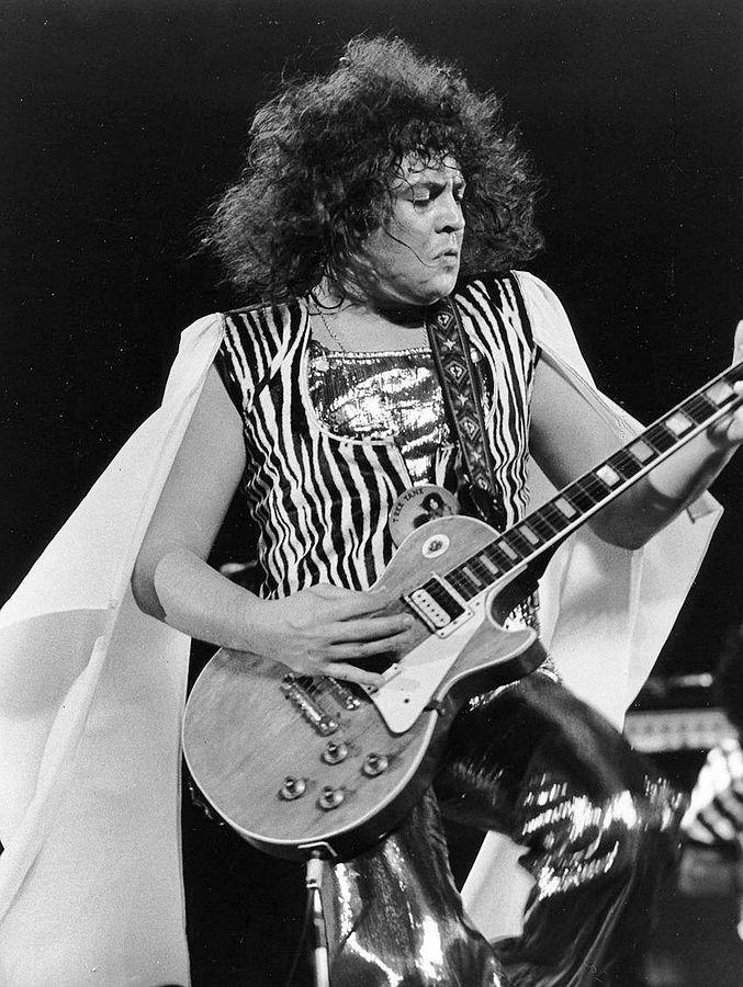 Image Credit:   Marc Bolan Performing on ABC's In Concert (1973)  via Wikimedia Commons.