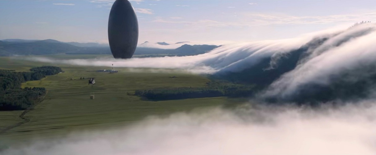 The boys are back in town! Still image from  Arrival (2016) property of Paramount Pictures.