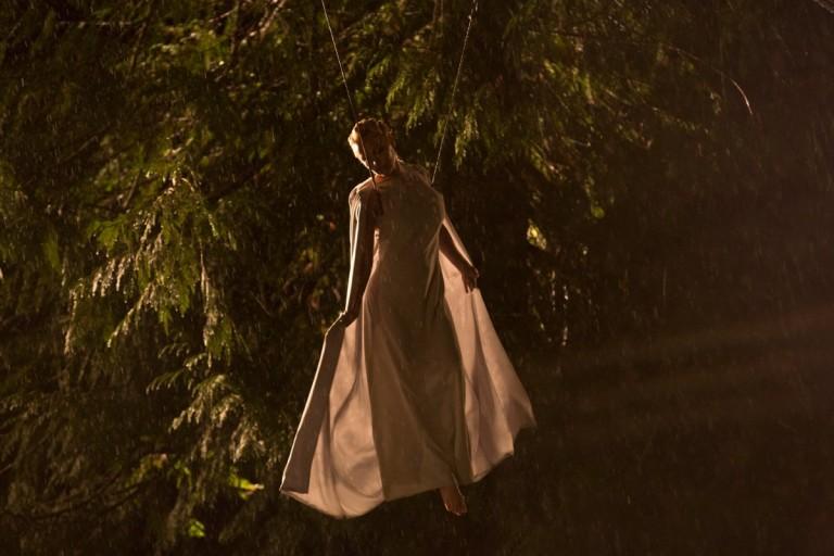 PAMELA ANDERSON IN HER NEW FILM, THE PEOPLE GARDEN